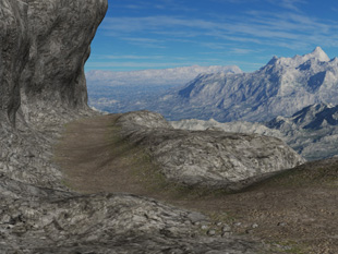 Easy Environments: Mountain Trail