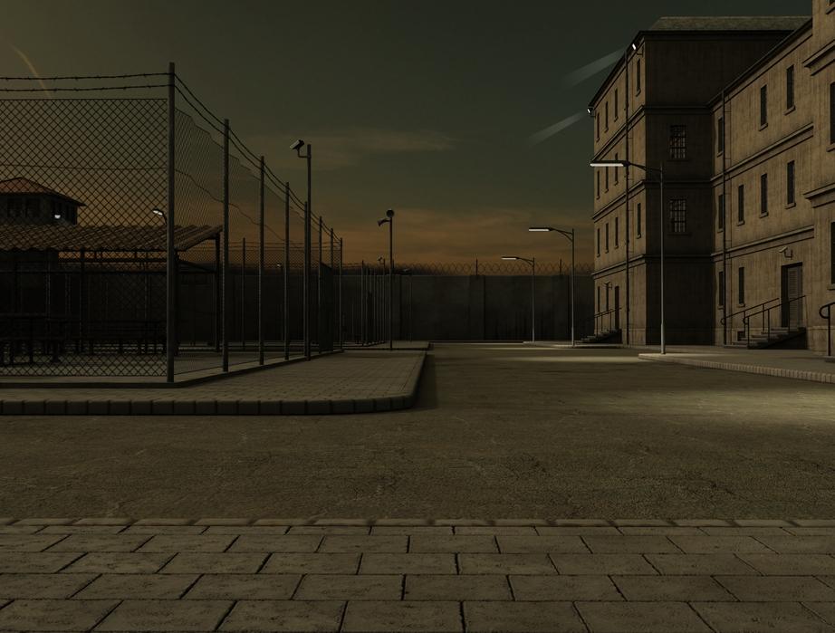 FM Prison Yard (Maya/Daz Studio/Poser) – Flipmode 3D